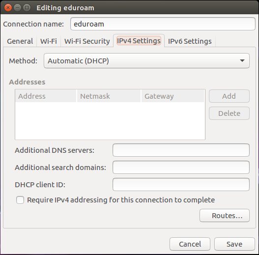 Connecting to Eduroam on Ubuntu 16 0 – IT Services