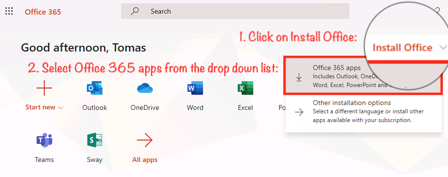 Office_Portal_Install_Dropdown_list.png