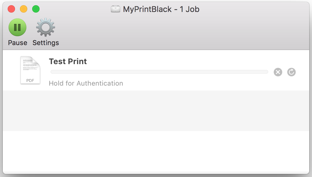 Adding MyPrint to your Staff macOS device  – IT Services
